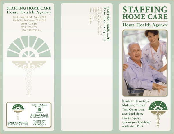 Day care center brochures circuit diagram maker for Home care brochure template
